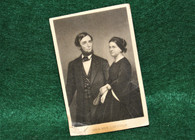 Period Image of Abraham Lincoln and Mary Todd  (SOLD)