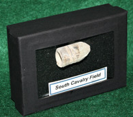 Confederate fired Gardner bullet from South Cavalry Field, Gettysburg  2(SOLD)