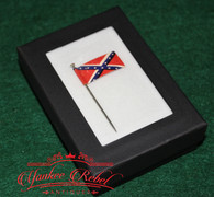 Early 1900 Confederate Battle Flag Lapel Pin