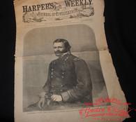 Original Harper's Weekly Newspaper, dated July 1863, Gettysburg, Vickburg, Port Hudson (SOLD)