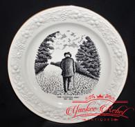 Very Poignant Souvenir Plate, rare GAR presentation