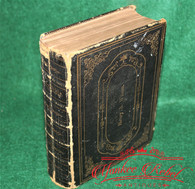Civil War Soldier's Bible, dated 1862, 11th Connecticut Infantry (SOLD)