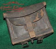 Relic Condition Union .58 cal. Cartridge Box  (SOLD)