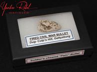"Original Civil War ""Pain Bullet"", recovered from Culp's Hill, Gettysburg (SOLD)"