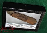 Civil War Soldier's Pocketknife, dug at Fredericksburg, Virginia