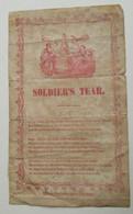 Original Civil War Printed Poem