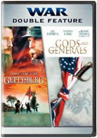"WAR Double Feature DVD, ""Gods & Generals"" / ""Gettysburg"" -  ""FREE SHIPPING"""