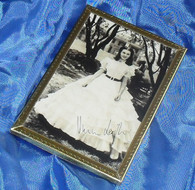 Framed Photograph, Scarlett O'Hara - Gone with the Wind