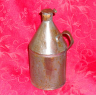Early Tin Syrup Container