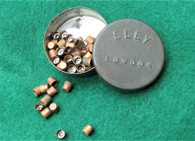 Eley Percussion Cap Tin, with caps
