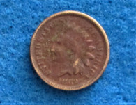 "Civil War One-cent coin, dated ""1862"""