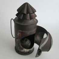 Civil War Signal Lantern, as found in the CSS Hunley (SOLD)