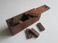 Hand-made Cased Domino Set, as in Gettysburg Museum (SOLD,TG)
