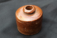 """Squat"" Pottery Inkwell"