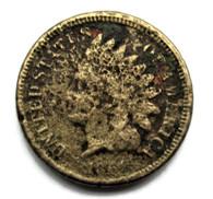Civil War Cent, dated 1861