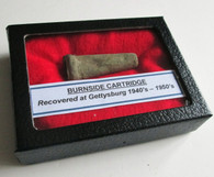Civil War Burnside Cartridge Recovered at Gettysburg (SOLD)