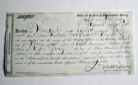Very Rare ! Original Civil War Substitute Draft Document, dated 1864