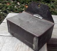 Civil War era Tin Matchsafe