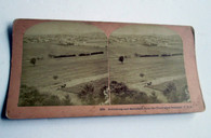Rare Gettysburg Stereocard taken from Seminary Hill (SOLD)