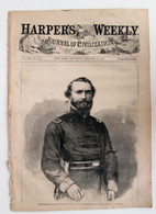 "Original Civil War ""Harper's Weekly"" newspaper, dated October, 1863"