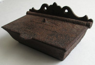 Cast-iron Barracks Match Safe from Nashville (SOLD,TG)