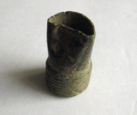 Artillery shell fuse from the Wilderness Battlefield