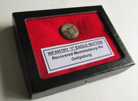 """Union Infantry """"I"""" Button, recovered at Gettysburg (SOLD)"""