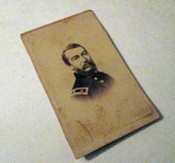 War-time CDV photograph of General Philip Sheridan