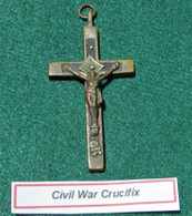 Civil War Crucifix, as in Gettysburg Museum