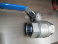 "BALL VALVE  1.5"" TH 2000 PSI"
