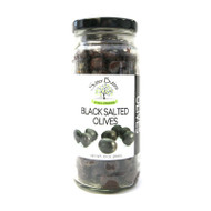 Black Salt Cured Olives