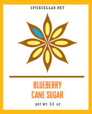 Blueberry Flavor Infused Sugar
