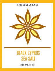 Black Cyprus Sea salt