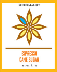 Espresso Flavor Infused Sugar