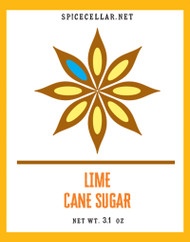 Lime Flavor Infused Sugar