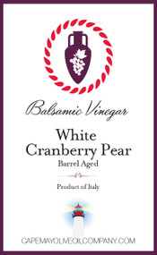 White Cranberry Pear Balsamic