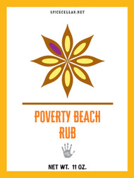 Poverty Beach Rub - Large
