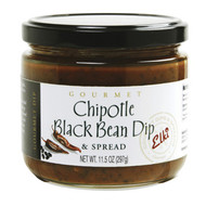 Chipotle Black Bean Dip and Spread by Elki