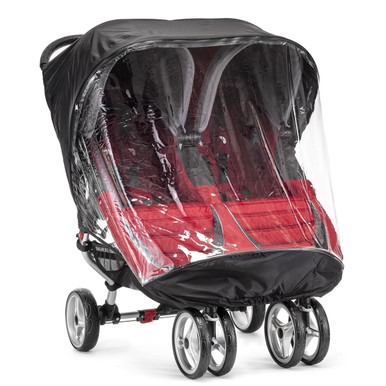 Baby Jogger Rain Wind Canopy For City Mini Double Stroller