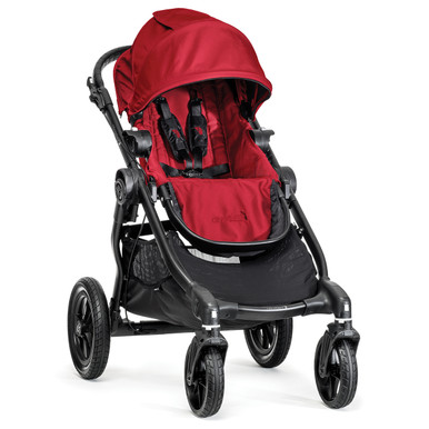 Baby Jogger City Select Stroller 2014 in Red/Black Frame