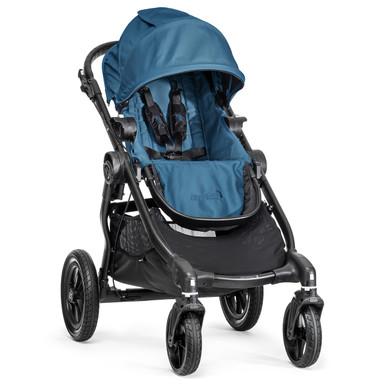 Baby Jogger City Select Stroller 2014 in Teal/Black Frame