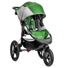Summit X3 2013 All Terrain Single Stroller in Green/Grey