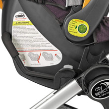 City Select Stroller Peg-Perego Car Seat Adapter by Baby Jogger