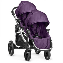 Baby Jogger City Select Double Stroller 2018 in Amethyst - SHIPS NOW