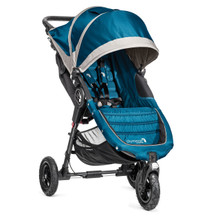Baby Jogger City Mini GT Single Stroller 2018 in Teal/Gray - SHIPS NOW