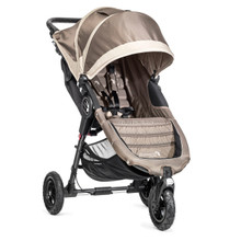 Baby Jogger City Mini GT Single Stroller 2017 in Sand/Stone - SHIPS NOW