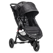 Baby Jogger City Mini GT Single Stroller 2018 in Black/Black - SHIPS NOW