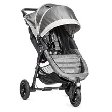 Baby Jogger City Mini GT Single Stroller 2018 in Steel Gray - SHIPS NOW