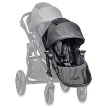 Baby Jogger City Select Second Seat Kit in Black w/ Black Frame