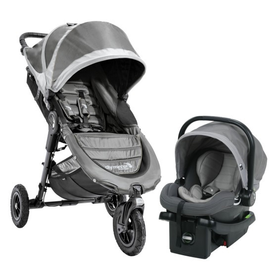 Baby Jogger 2018 City Mini GT Travel System in Steel Gray ...